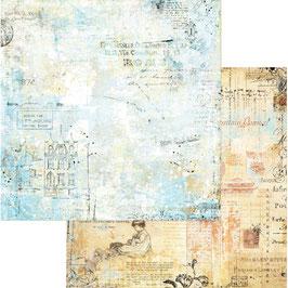 Scrapbooking-Papier Blue Fern Studios/Quirk