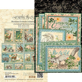 Graphic 45-Ephemera Woodland Friends