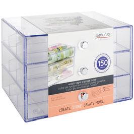 Deflecto-Washi Tape Storage Cube