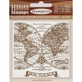 Stamperia-Stempel/Voyages Fantastiques WTKCC154