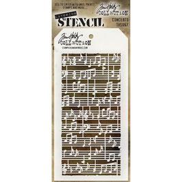 Tim Holtz-Stencil/Concerto