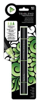 Spectrum Noir-TriBlend Marker/Light-Green-Blend