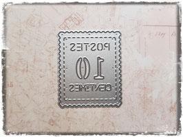 Stanzform-Briefmarke 1073