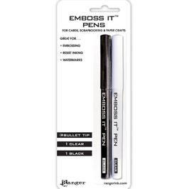 Ranger-Emboss It Pens/Prägestifte-schwarz-weiss