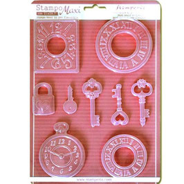 Stamperia-Soft Maxi Mould/Watches