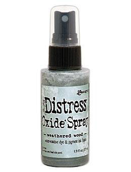 Distress Oxide Spray-weathered wood