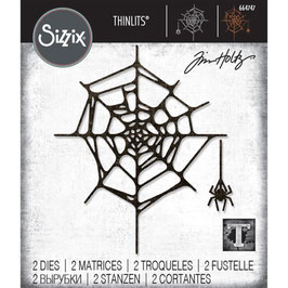 Sizzix by Tim Holtz Thinlits-Stanzform/Spider Web