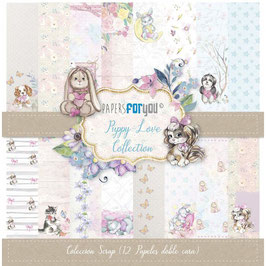 """Papers for you-Scrapbooking Papier/Puppy Love 12x12"""""""
