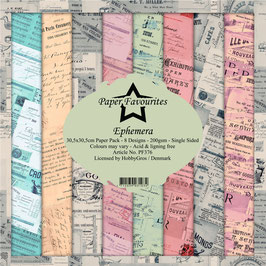 """Paper Favourites-Ephemera 12x12"""""""