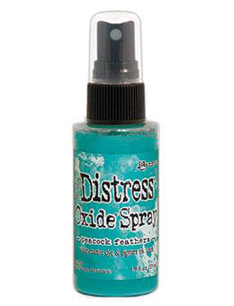 Distress Oxide Spray-peacock feathers