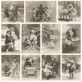 Pion Design-From Grandmas Attic/Christmas joy PD1315F