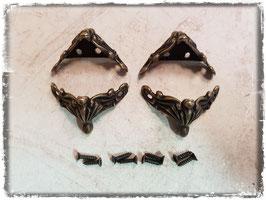 Möbelfüsse-Metall/Vintage bronce 390