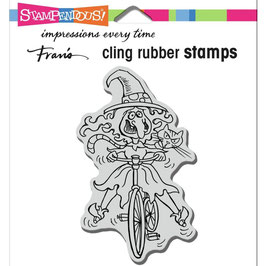Stampendous! Stempel-Wobbly Witch