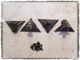 Möbelfüsse - Vintage bronce mittel 7307