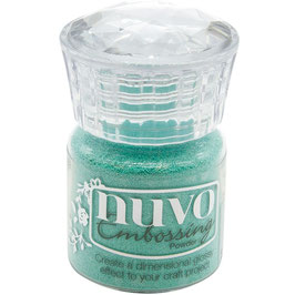 Nuvo-Embossing Pulver/Turquoise Lagoon