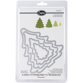 Sizzix Framelits-Stanzform/Christmas Trees