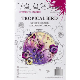 Pink Ink Designs-Stempel/Tropical Bird