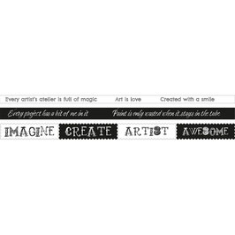 Studio Light-Washi Tape/Background Artist's Atelier nr.03