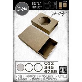 Sizzix by Tim Holtz Bigz L-Stanzform/Matchbox