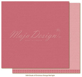 Maja Design-Shade of Christmas Seasons/Vintage Red Light