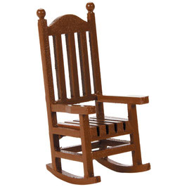 Darice-Timeless Miniatures/Wood Rocking Chair