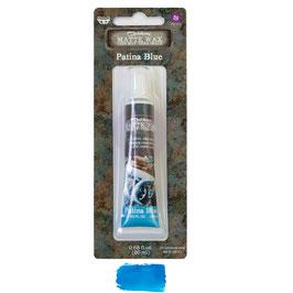 Finnabair Art Alchemy-Matte Wax/Patina Blue