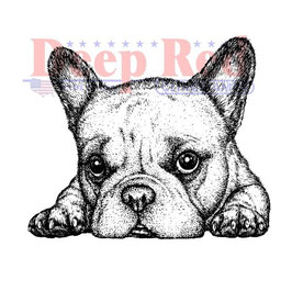 Deep Red-Stempel/French Bulldog