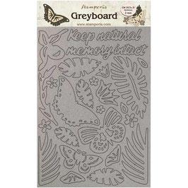 Stamperia Greyboard-Karton Stanzteile/Amazonia KLSPDA422
