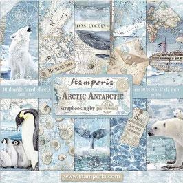 """Stamperia-Paper Pad Arctic Antarctic 12x12"""""""