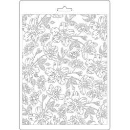 Stamperia-Soft Mould A5-Atelier-Van Gogh Blossoms K3PTA579