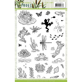 Find It Trading-Stempel/Friendly Frogs