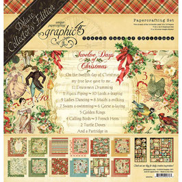 Deluxe Collector's Edition-Graphic 45/Twelve Days Of Christmas 12x12""