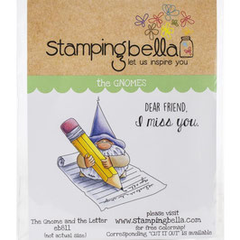 Stamping Bella-Cling Stamp/Gnome & The Letter
