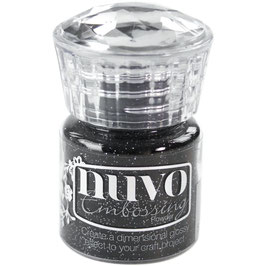Nuvo-Embossing Pulver/Glitter Noir