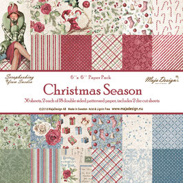Maja Design-Paper Pad Christmas Season 6x6""
