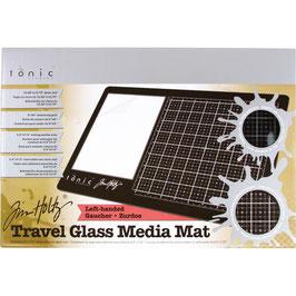 Tim Holtz-Glass Media Mat 26x40cm/Linkshänder