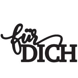 """Vaessen Creative by Mundart Stempel-Stanzform """"für Dich"""""""