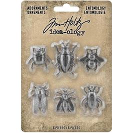 Idea-Ology by Tim Holtz/Metal Adornments Entomology