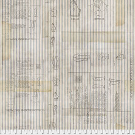 Free Spirit-Memoranda III-by Tim Holtz/Sewing Instructions