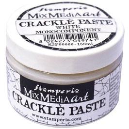 Stamperia Crackle Paste-White 150ml