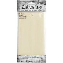 Distress Heavystock Tags #8-Etiketten 20 Stück