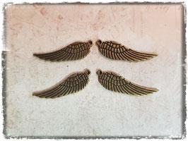 Metall Charms-Flügel Bronce 1/120