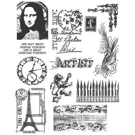 Stampers Anonymous by Tim Holtz-Stempel/Mini Classics