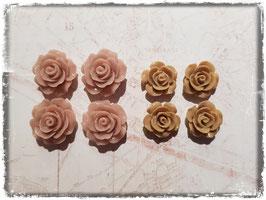 Harzblumen - ocker