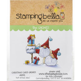 Stamping Bella-Cling Stamp/Christmas Card Gnomes