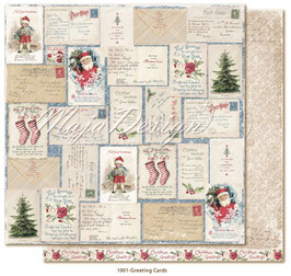 Maja Design - Christmas Seasons - Greeting Cards - 12x12""