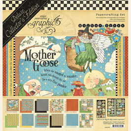 """Graphic 45 Deluxe Collector's Edition-Mother Goose 12x12"""""""
