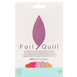 """We R-Foil Quill Folienblätter 4x6""""/Flamingo"""