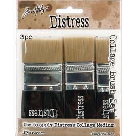 Distress-Collage Brush/Set 3 Stück