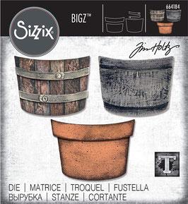 Sizzix by Tim Holtz Bigz-Stanzform/Potted
